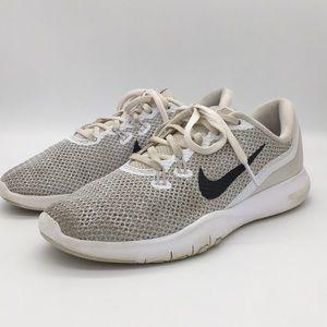 Nike Training Flex TR 3 White Running Shoes